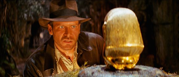 кадр из фильма «Индиана Джонс: В поисках утраченного ковчега»
