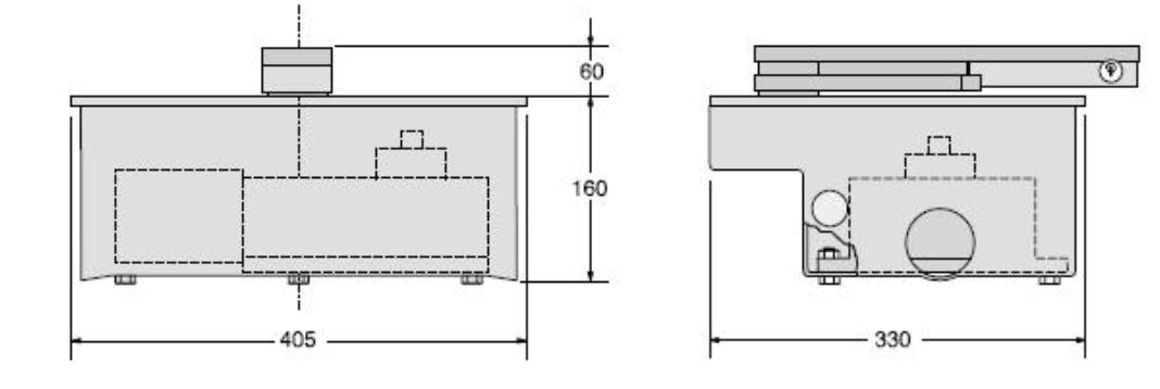 Привод автоматики распашных ворот серии FROG схема