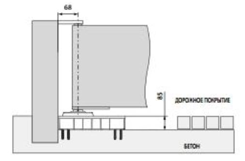 Монтаж автоматики ворот серии FROG схема