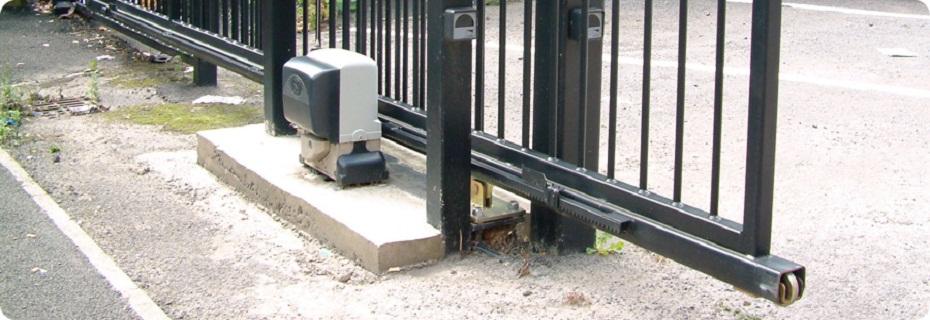 Відкатні ворота з автоматикою