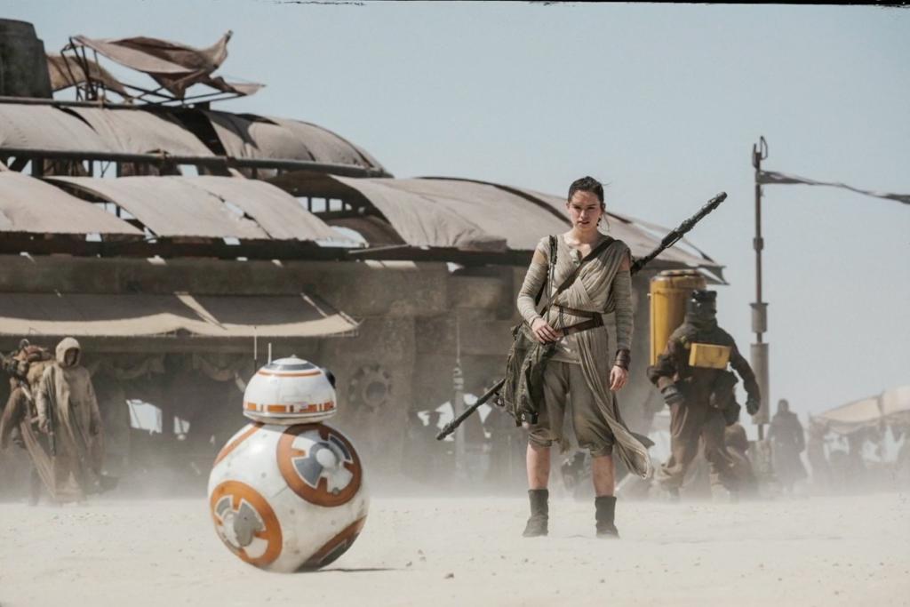 """Выбор автоматики для ворот. Кадр из фильма """"Звездные войны. Пробуждение силы"""""""
