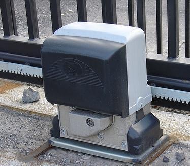 Привод автоматики откатных ворот фото